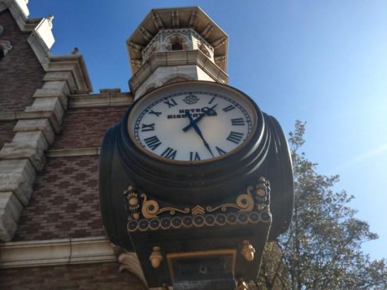 タワーオブテラーの時計