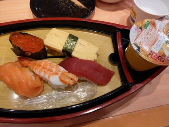 がってん寿司のお子様メニュー