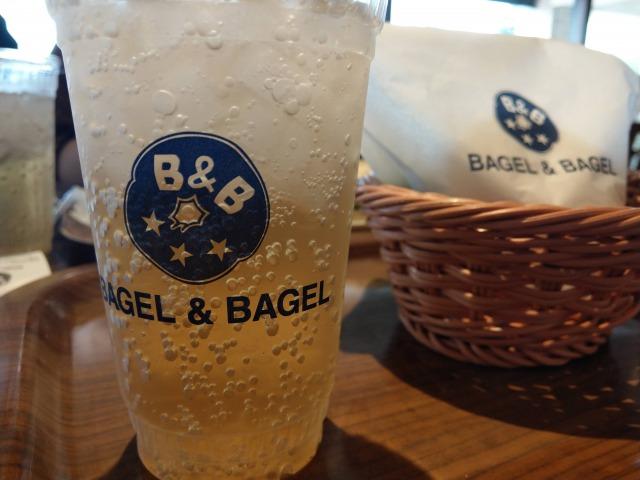 BAGEL&BAGELのランチが美味しくてお得。ホットメキシカンチキンが程よい辛さ