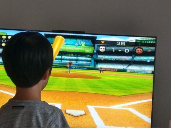 Wiiスポーツの野球
