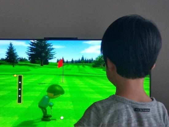 Wiiスポーツのゴルフ