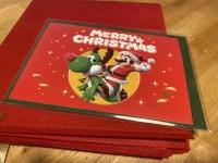 マリオ好きな子供のためにニンテンドーストア限定のラッピングバッグ&メッセージカード購入
