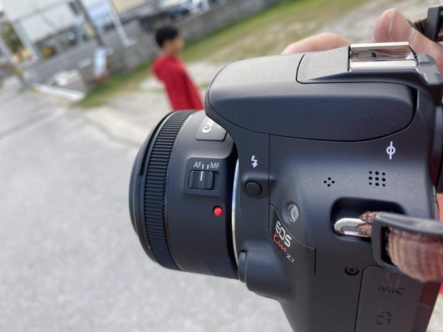 世界最小の一眼レフCANON EOS Kiss X7を使い込んで持ち運びに慣れたい
