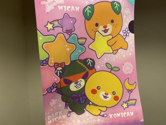 愛媛のキャラクターミキャン