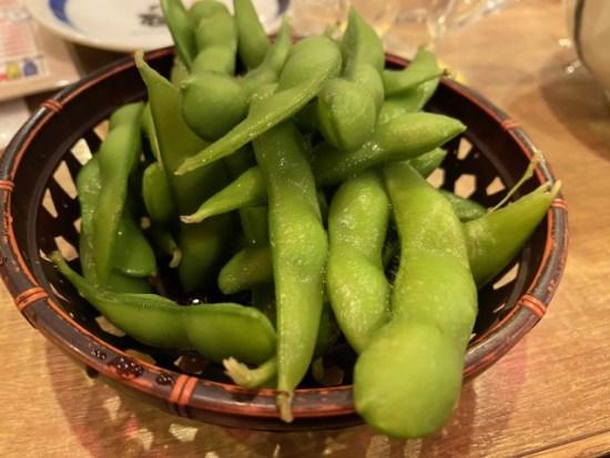やきとりの扇屋の枝豆