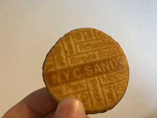 nycsandクッキー