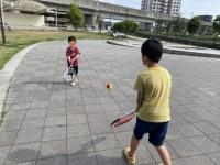 子供たちがテニスを楽しみにしてくれているのが嬉しい