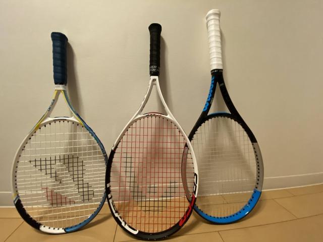 20年ぶりのテニスラケット購入。試打で決めたけどYouTubeがすごく参考になった