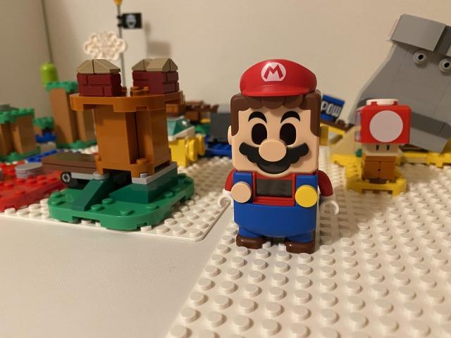 レゴマリオは自分でコースを作れるのが楽しい!次々と買い足してしまいそう