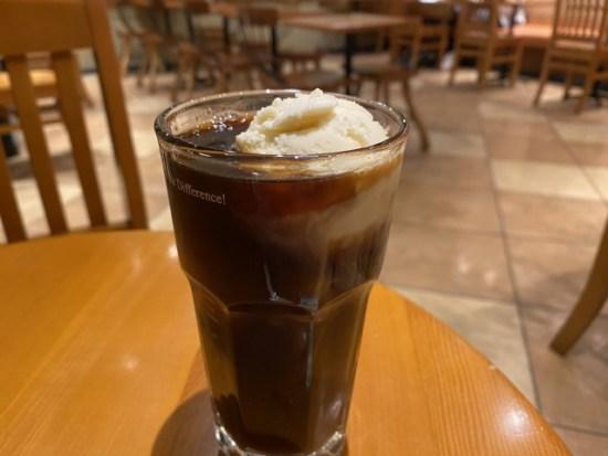アイスコーヒーフロート