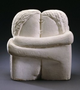 The Kissers by Constantin Brancusi
