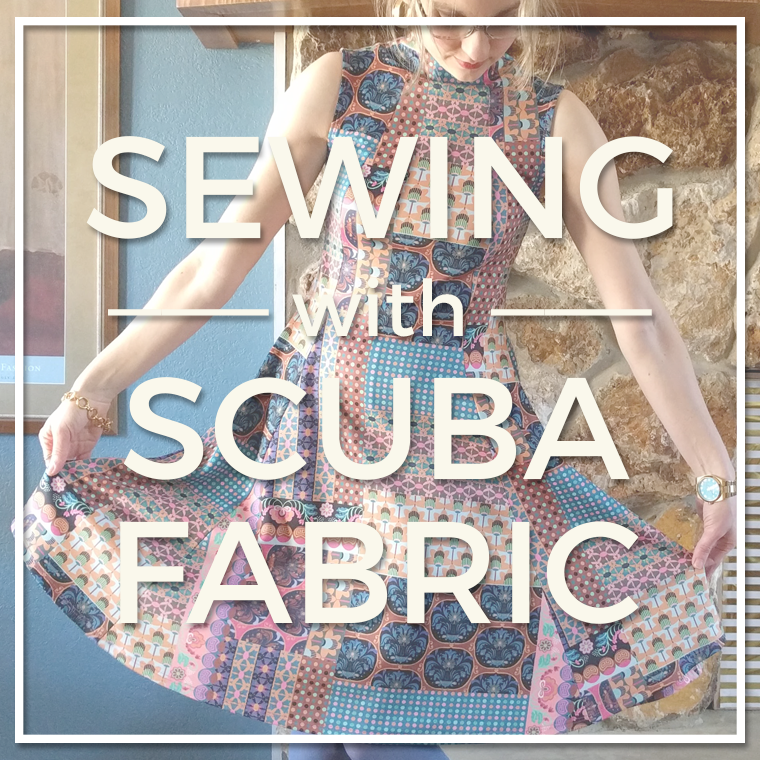 Scuba is a thick, stable knit that's friendly for beginners. Read on to learn scuba knit basics, how to press scuba knit, and more tips for working with scuba fabric.