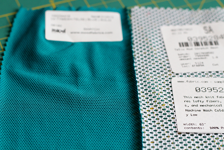 I wanted a finer mesh for my BurdaStyle 04/2014 #109 knit V-neck pullover top.