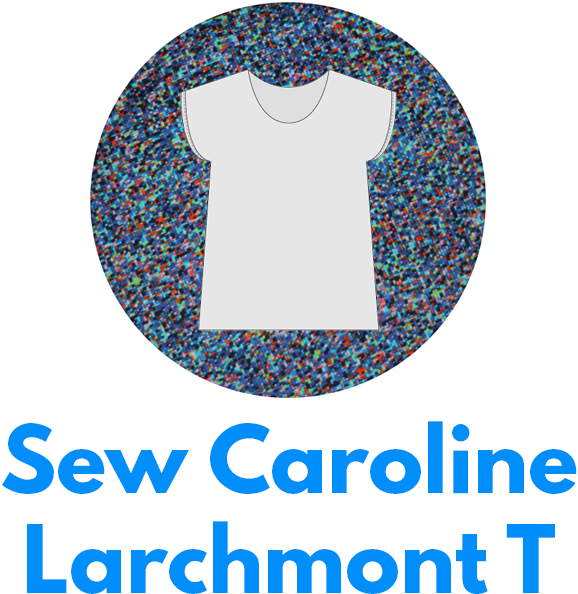 The Sew Caroline Larchmont T is one of my capsule wardrobe sewing patterns.