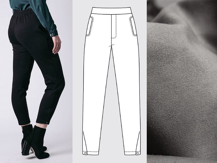 I'm making the Ruri sweatpants for December's Project #SewMyStyle garment.