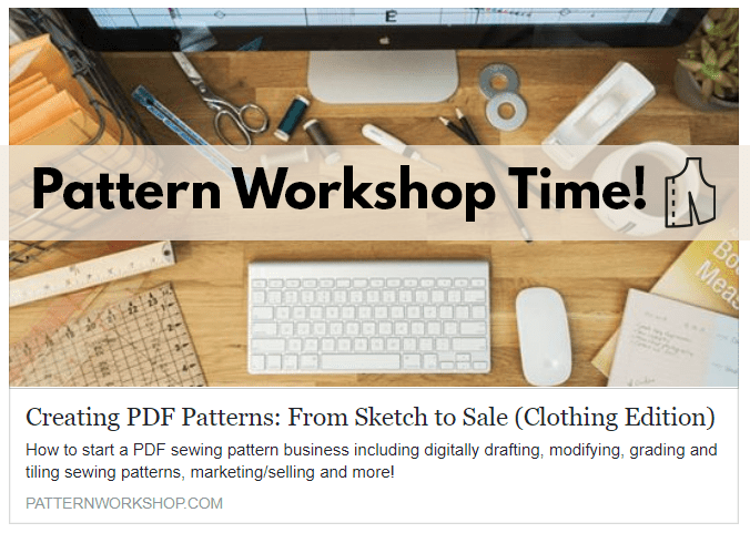 This year is the year of Pattern Workshop.