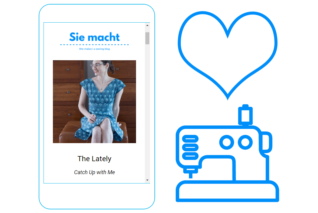 The Sie macht newsletter is published the last Saturday of the month.