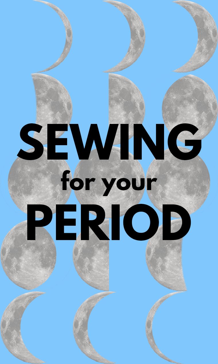 Sewing for your period is an act of self-care during your menstrual cycle. Check out these clothes, period-inspired accessories, and DIY menstrual gear that you can sew for your period.