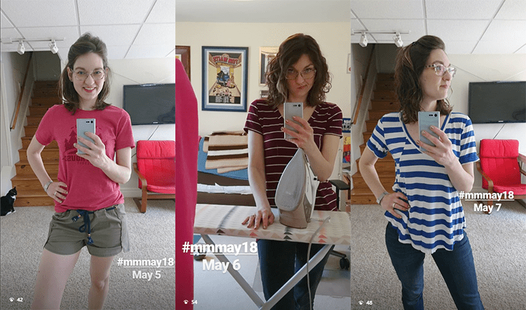 Days 5,6, and 7 of Me-Made May 2018.
