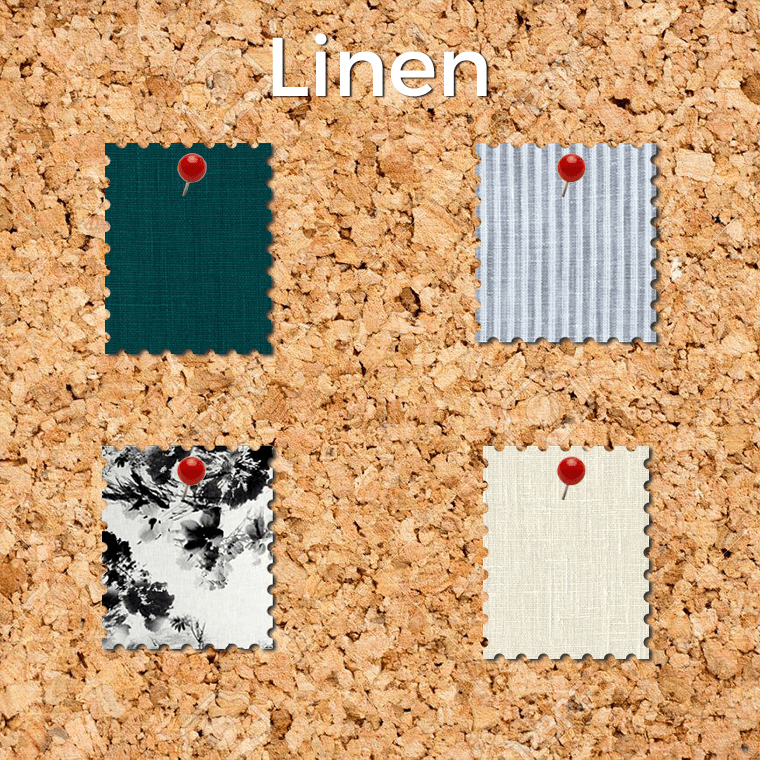 Linen is one of the easiest fabrics to sew. Its texture is mildly grippy, and it presses extremely well.