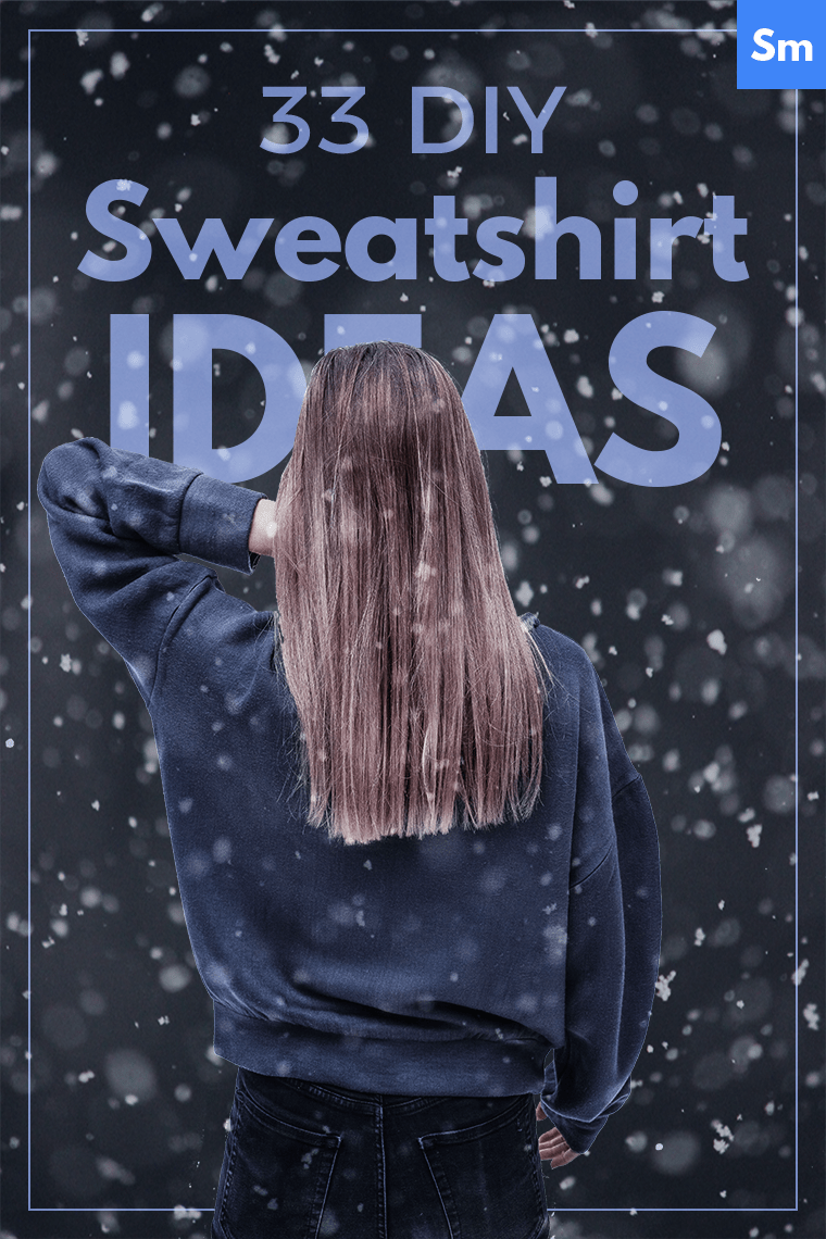 Following are some of the best-loved sweatshirt sewing patterns — and 33 DIY sweatershirt ideas to make each jumper you sew as unique as a snowflake. Let the customization begin!