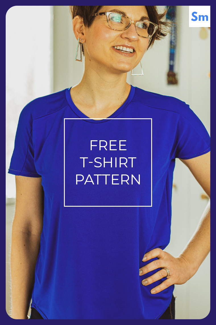 Sie Macht Cass hero image. Download Cass, the free T-shirt pattern. Cass comes in 13 sizes.