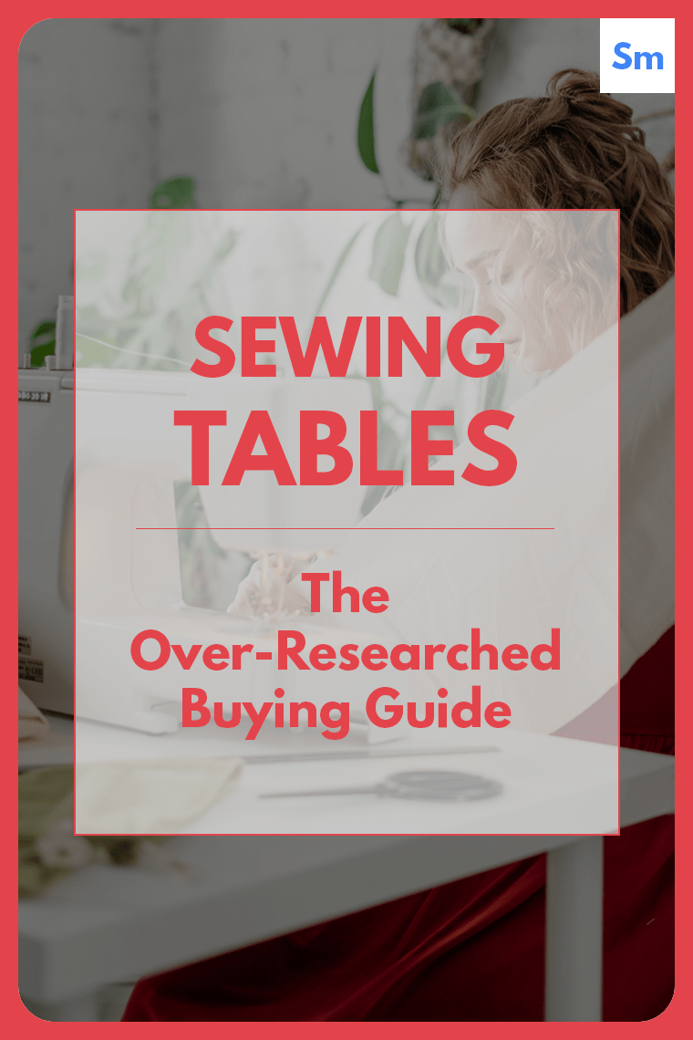 Check out this mega guide on how to buy a sewing table. You'll learn which features to consider when making your decision.