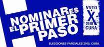 #CubaNomina #VotoXCuba