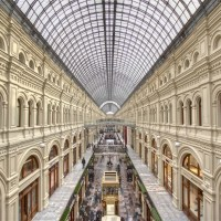 Welcome to Moscow! Gum Shopping Centre...BEST ICE CREAM EVER