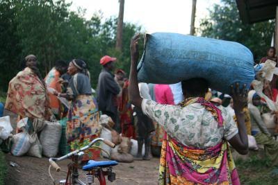Photo of Burundi coffee center
