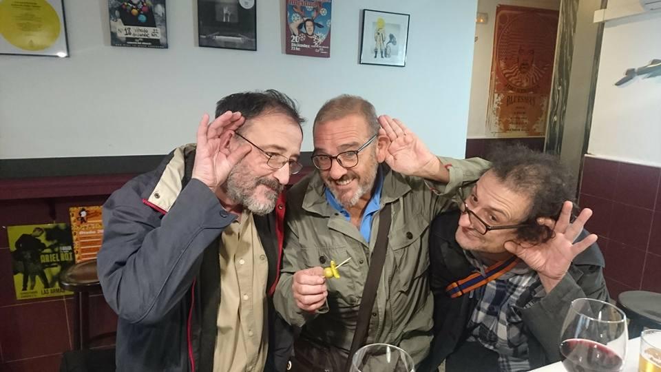 José Marí, Manuel y Santi