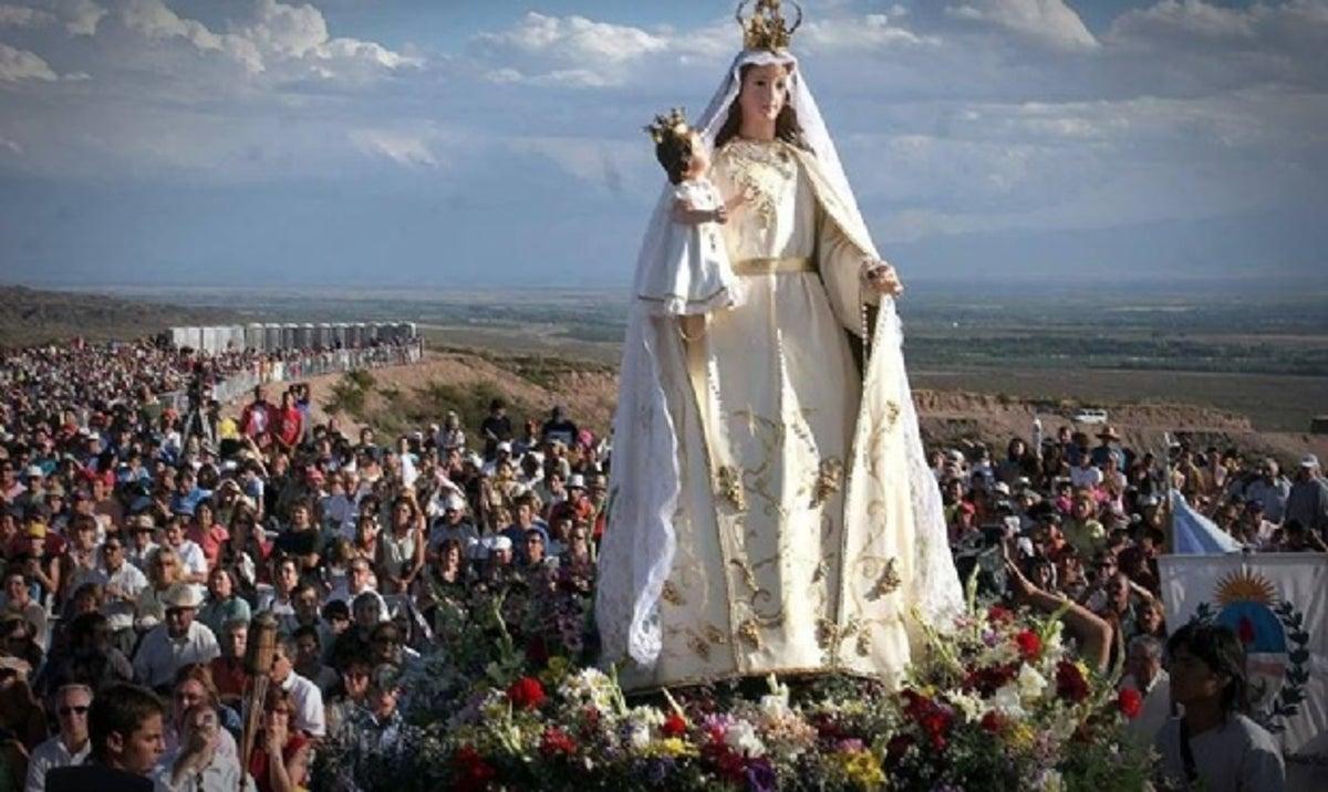 El martes comenzará la Peregrinación de la Virgen de la Carrodilla