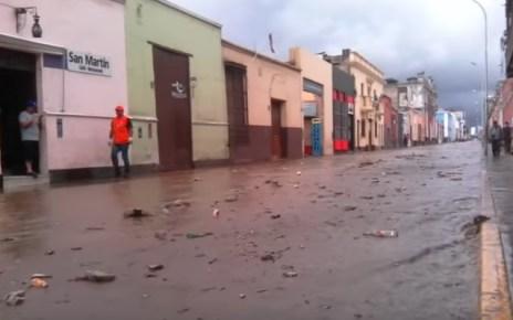 inundacion en Trujillo moho