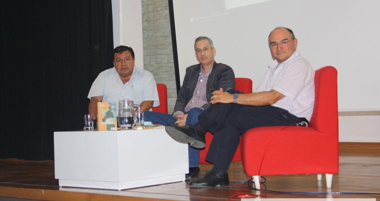 Gerarco Cailloma, Luis Quintanilla y Beethoven Medina