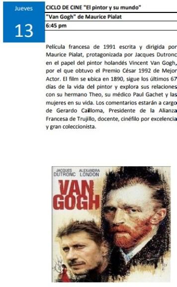 El pintor y su mundo Van Gogh