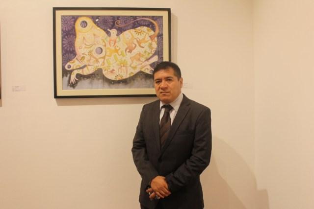 Pintor Pablo Ramírez Vega