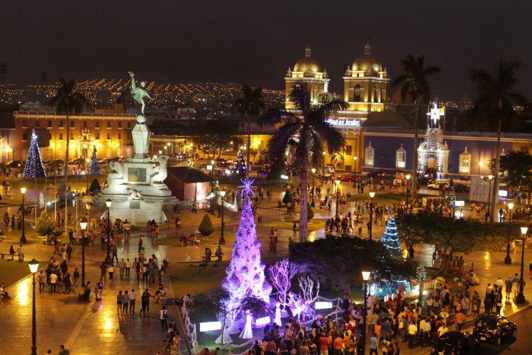 Festival de luces y colores de Trujillo
