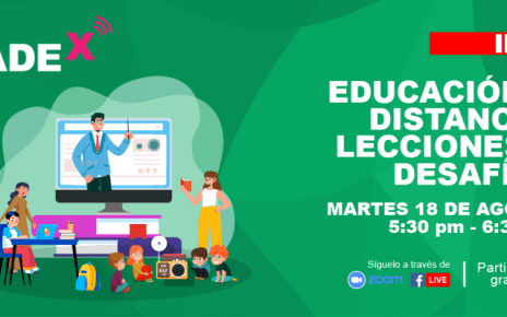 CADEx Educación a Distancia retos