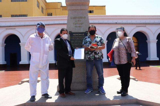 UNT dona ivermectina a Cajamarca