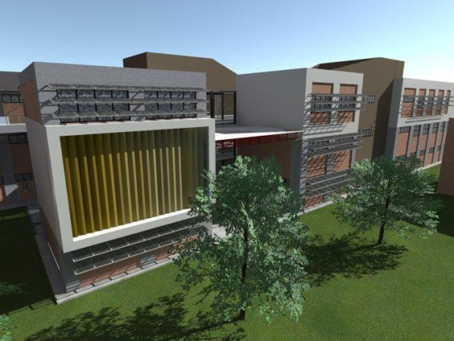 Maqueta Arquitectura de la UNT 1