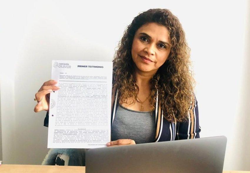 Maribel Moreno Ojeda Colegio de Comunicadores del Perú