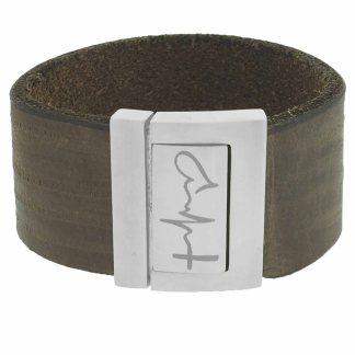20-30mm brede leren armband