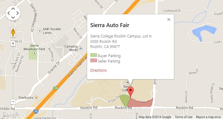 Sierra College Rocklin Campus Map