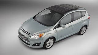 Why Solar Panels on the Roof of an Electric Car May Not Be Pie in     Ford C Max Energi