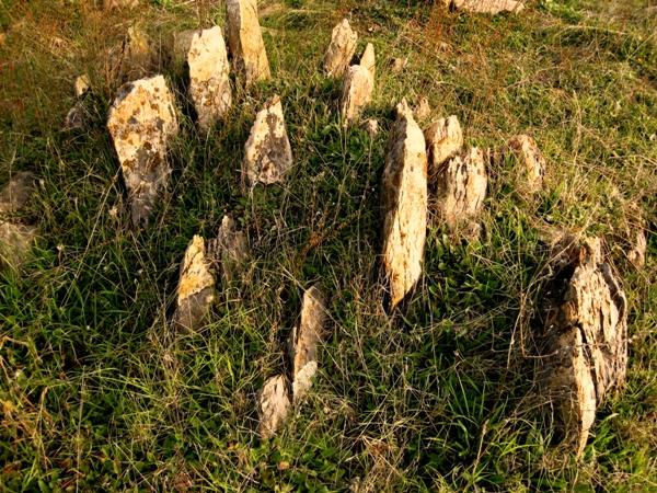 2010 Merced Falls Road Tombstone rock