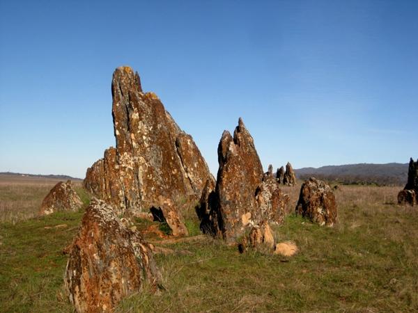 2011 Tombstone rock along Rock Creek Rd