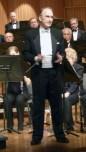 Dr. Halseth & the ensemble in Capistrano Hall