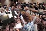 Rehearsing for November 200 Concert