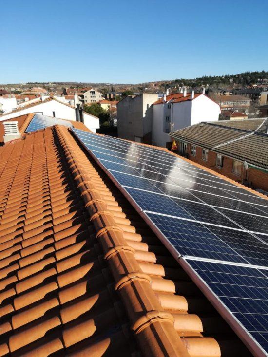 Los edificios públicos de Soto del Real se suman a la energía solar 5