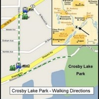 Use transit to get to Crosby Lake Park? Here's how some people did it (and how you can too)